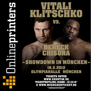 Online print shop sponsors boxing fight (Copyright: Klitschko Management Group GmbH)