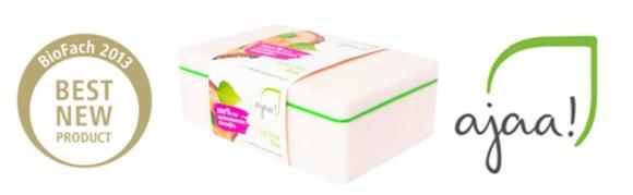 ajaa® aus ARBOBLEND® - Bestes neue Produkt der Weltleitmesse BioFach