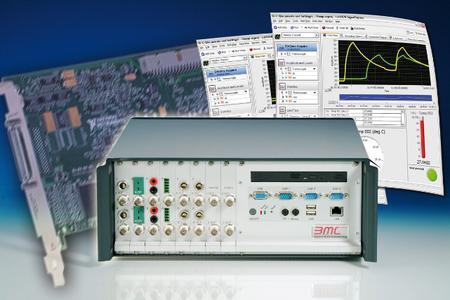 BMC-Messrechner CompactPR, kompatibel mit NI-Messkarten