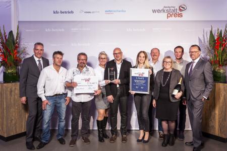 Autohaus Deusch Gewinnt Deutschen Werkstattpreis 2018 Vogel