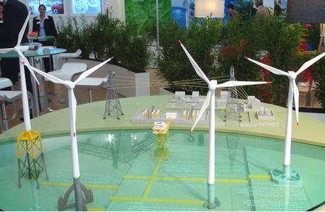 Windenergie auf dem Vormarsch, Foto: DVS
