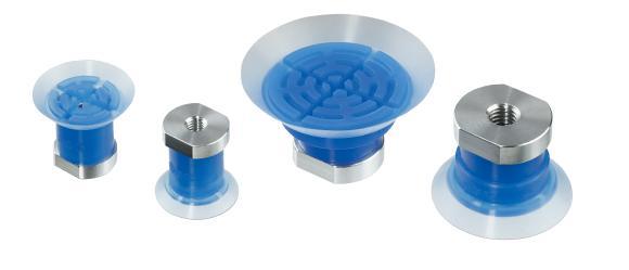 Die Vakuumsauger der Serie ZP3P sind perfekt zum Ansaugen folienumwickelter, dünner, nicht-formstabiler Produkte geeignet