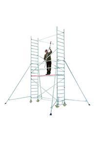 5. Einhängen obere Geländerstrebe