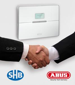 ABUS Security-Center und die SHB Allgemeine Versicherung VVaG