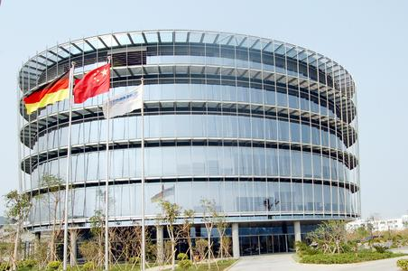 Main building of Schmid Zhuhai Ltd. in China