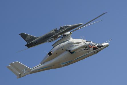 Eurocopters Hybridhubschrauber X3 schreibt mit 255 Knoten Höchstgeschwindigkeit Luftfahrtgeschichte (Copyright: Alain ERNOULT)