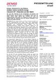[PDF] Pressemitteilung: DENSO WAVE EUROPE bringt robusten SF1 Wearable auf den Markt Der neue