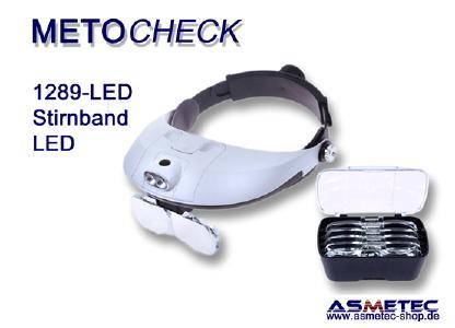 METOCHECK Kopflupe 81001, bis 6fach