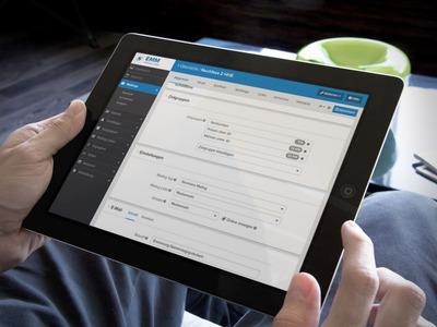 Überall und jederzeit: Die akutelle Version des EMM lässt sich auch über das iPad bedienen