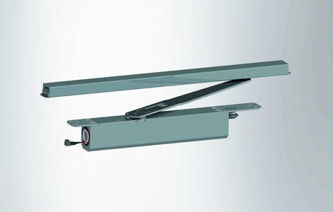 Das TS 5000 Freilauftürschließer-Programm und der integrierte Freilauftürschließer GEZE Boxer EFS  eignen sich für den Einsatz an barrierefreien Brandschutztüren bis 1400 Millimeter Flügelbreite (Fotos: GEZE GmbH)