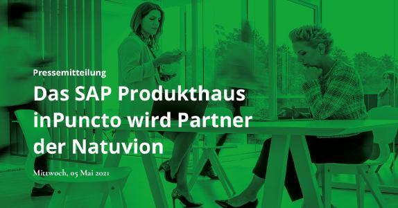 Das SAP Produkthaus inPuncto wird Partner der Natuvion