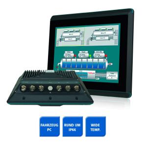 Spectra UPC F12CM Fahrzeugcomputer