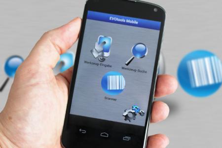 EVOtools Mobile - Auf der EMO 2013 erstmals vorgestellt, jetzt kostenlos bei Google Play