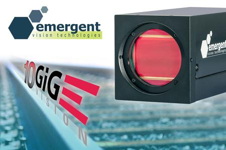 Fig. 3: Emergent Vision 10GigE cameras for high speed machine vision applications