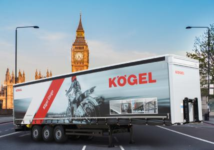 Commercial Vehicle Show 2018 - Kögel exhibits high-endurance workhorse, the Cargo (Photo: Kögel Cargo)