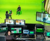 (Foto: hl-studios, Erlangen): hl-studios präsentiert das Hybrid Studio auf dem CGI-Congress