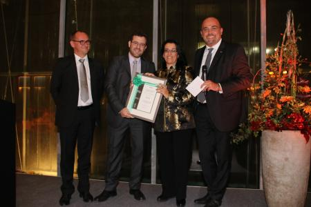The New Product Top Performer Award 2017 goes to the Greek company TAIRIS AEVE