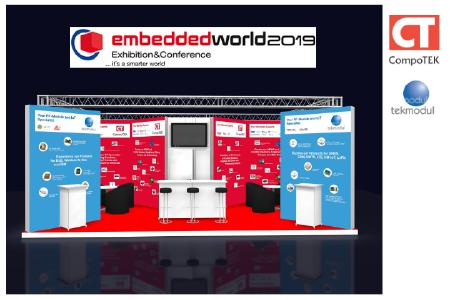 Messestand embedded 2019