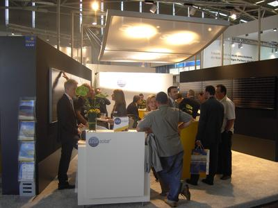 Messestand AZUR Solar