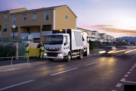Renault Midlum Müllsammelfahrzeug