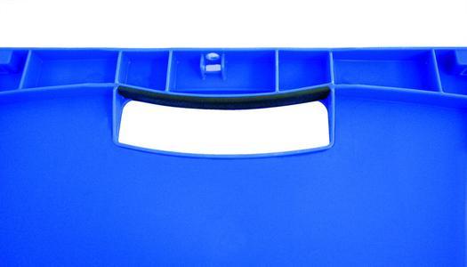 XL-Behälter mit der Ausrüstung SoftTouch-Griffe.