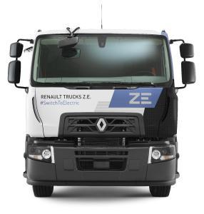 Ein Renault Trucks D Wide Z.E. mit 26 Tonnen zGG wird den Kunden von A+T Nutzfahrzeuge als Demofahrzeug zur Verfügung stehen.