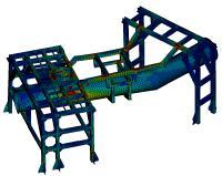 Strukturberechnung im Maschinen- und Anlagenbau mit MSC Software / Quelle und Copyright MSC Software