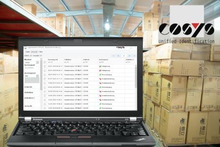 Bestandsführung mit dem COSYS WebDesk