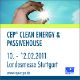 Logo of event Cep Clean Energy & Passivehouse 2011