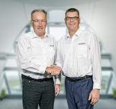 Volker Knuff li, Jörg Wurlitzer re