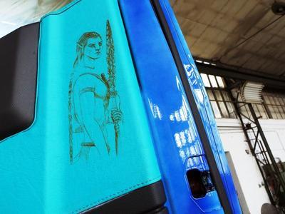 Mit viel Liebe zum Detail wurde der Renault Trucks T auch im Innenraum gestaltet (Foto: © Renault Trucks)