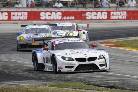 BMW Team RLL, #56 BMW Z4 GTLM, Road America