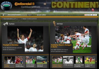 Continental berichtet auf ContiSoccerWorld.de über den FIFA Konföderationen-Pokal Brasilien 2013