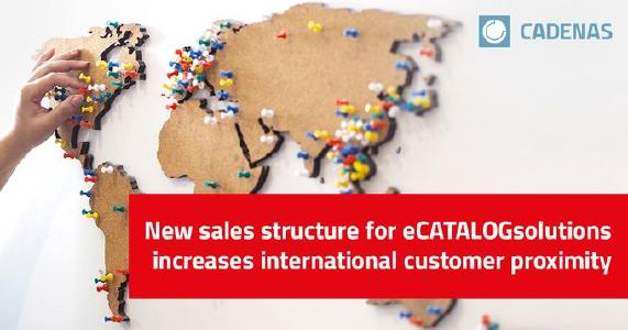 CADENAS porta avanti l'internazionalizzazione con una nuova struttura di vendita per la divisione Cataloghi Elettronici CAD