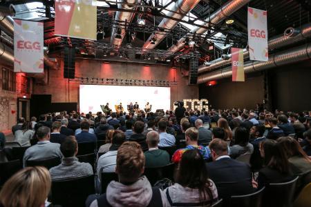 In Deutschland fand im vergangenen Jahr erstmals die EGG Germany in Stuttgart statt. Mehr als 350 Teilnehmende kamen im November 2019 in die Wagenhallen in Stuttgart.
