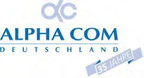 ALPHA COM feiert am 16. Juli 2011 35-jähriges Firmenjubiläum, Foto: ALPHA COM