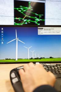 Netzleitwarte der Zukunft an der TU Ilmenau (© Siemens AG)