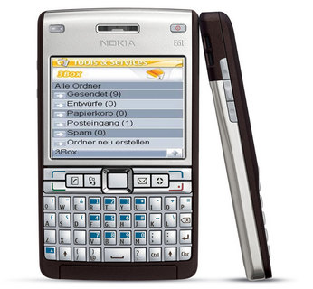 Nokia E61i – neues Businesshandy bei 3