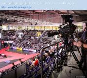 SIMON MEDIA mit Übertragungswagen Ü1HD zur Liveproduktion auf der Hallenrad WM in Stuttgart