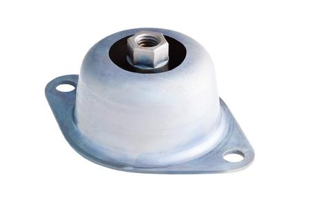 ContiTech has developed various new surface coatings for its bearing elements. As a special design, they protect rubber-metal parts, such as this SCHWINGMETALL® bell mount, in applications that impose particularly high demands on corrosion protection (Photo: ContiTech)