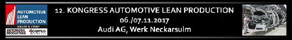 12. Kongress Automotive Lean Production