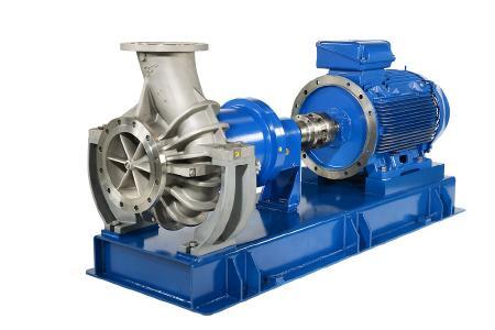 Für Fördermengen von über 1000 m3/h in der gewohnten CP-Qualität – möglich dank der neuen MKP 300-250-315