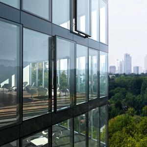 Buildings become Smart Buildings with system solutions from a single source (Photo: Schüco International KG)