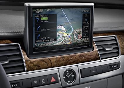 One-Shot Destination Entry von Nuance im Audi A8
