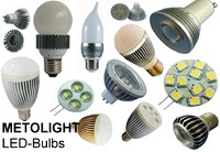 Neue METOLIGHT LED-Bulbs und LED-Spots
