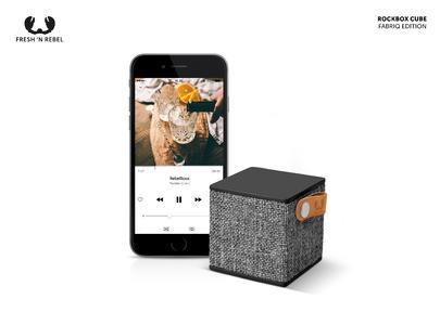 Die neue rockbox cube fabriq edition ein kleiner for Minimalistisches smartphone
