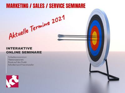 Online Seminare Sales Service