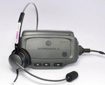 Das robuste Terminal WT4090 VOW von Motorola eignet sich hervorragend für die beleglose, sprachgesteuerte Kommissionierung mit topSPEECH-Lydia.