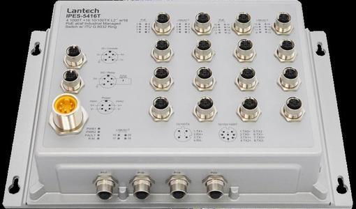 Lantech IPES-5416T-16 (IP67/IP43)