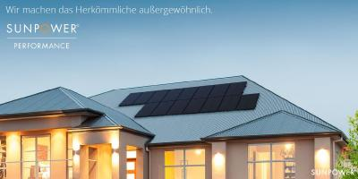 NEU SunPower Performance Solarmodul P 3